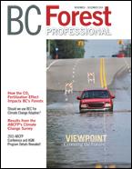 BC Forest Professional Magaizine Nov/Dec 2015 cover